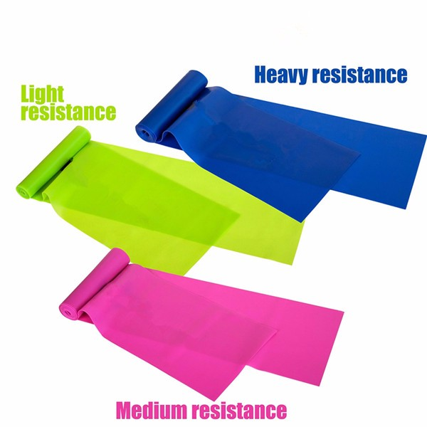 Custom Latex Stretch Elastic Resistance Yoga Exercise Band