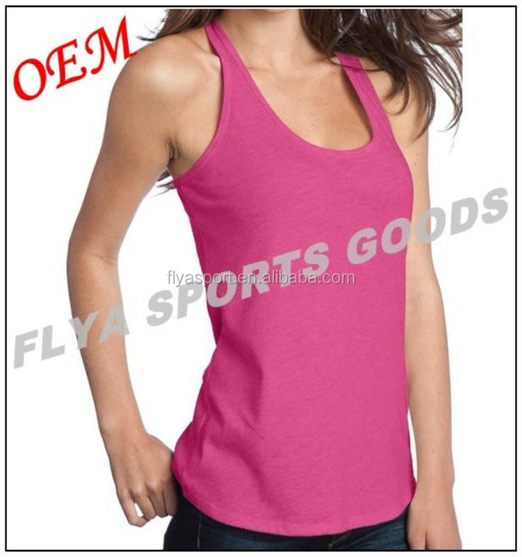Comfortable and breathable fabric Yoga Clothing Ladies T-back Tank Top