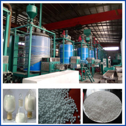 Batch expanded polystyrene foam balls/beads making machine