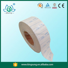 blank linerless label sticker roll
