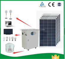 Solar power system all in one cabinet protable solar generator with AGM battery 1000w 2000w 3000w 5kw 6kw