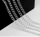 High quality cheap 925 sterling silver roll jewelry chain