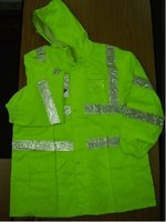Safety Raincoat With Pants