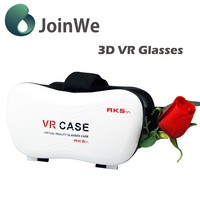 Cool Heandband material 3d glasses with viewing angle Vr box 5.0 VR Case