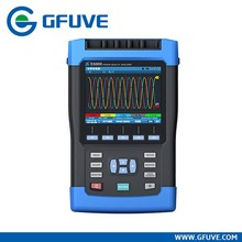 Electrical handheld 3 phase power quality analyzer
