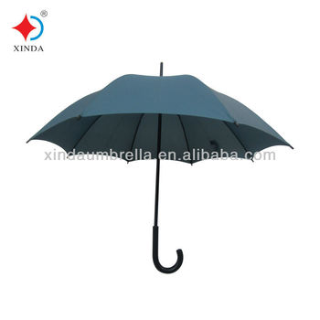 promotional straight umbrellas with high quality frame and handle