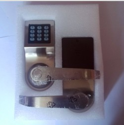 New Zinc alloy Electrical smart digital code door lock with remote control and card unlock