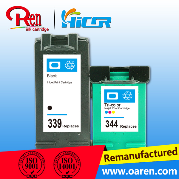 Colored and Full Cartridge's Status Ink Cartridge for HP339(C8767EE) remanufactured ink cartridge