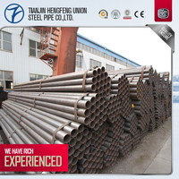 ASTM A53 sch40 google free samples erw weld carbon steel pipe price list per meter