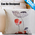 Retro Wash Lotus vintage wholesale coussin design throw pillow case