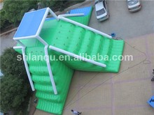 giant inflatable floating water slide,large water slide