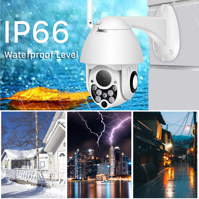BESDER HD 1080P PTZ IP Camera Speed Dome Wifi Night Vision Outdoor CCTV Wireless Security 4X Digital Zoom Wifi Ip PTZ Camera