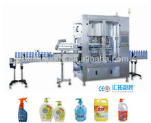 China market wholesale shower gel hand cleaning gel cap plastic bottle capping machine