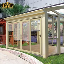 China Supplier Best Seller Customized Design Garden Glass Sun room Glass Garden Room