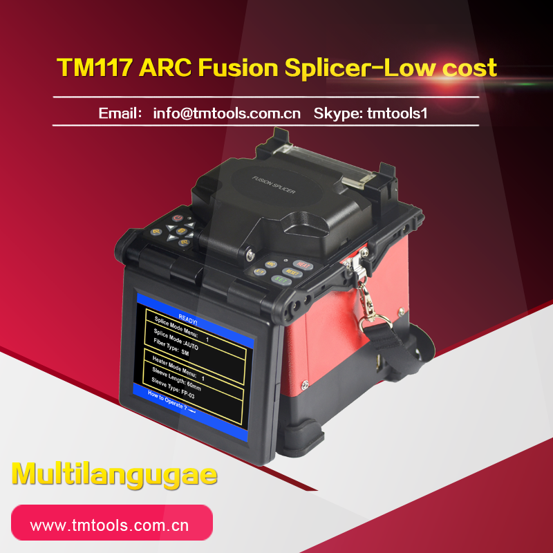 Optical fiber splicer TM-117 automatic optical fiber melting machine monitoring