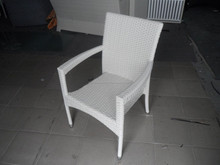 Cheap price outdoor furniture wicker stacking chair