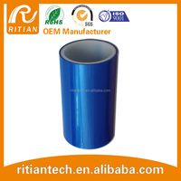 Free bf blue film for windows / organic glass plate surface protection pe 30-150um