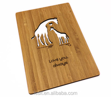 laser engraving mothers day wooden promotional gifts