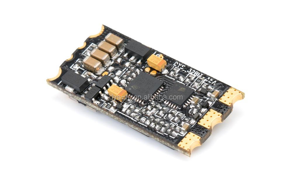 DYS Aria Blheli_32Bit 35A ESC 3-6S lipo,Weight 4.37g,Dshot1200,RGB LED,Faster and more powerful