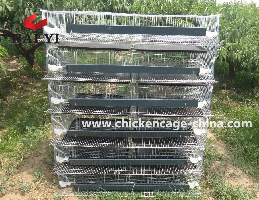Easy Clean 2 Level Rabbit Cage Cover