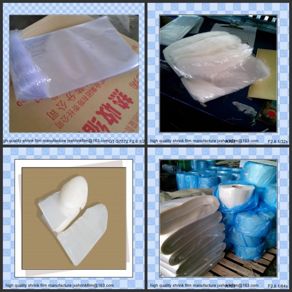 pvc shrink film for packaging ( not for lable)
