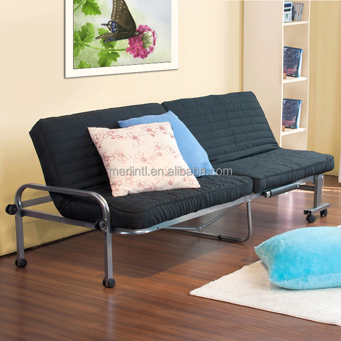 easy folding and rollaway soft foam sofa bed