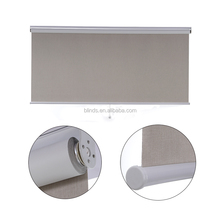 Blackout motorized roller blinds hollow venetain blind glass window shades for office