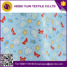 Trade assurance reactive printed cotton flannel fabric