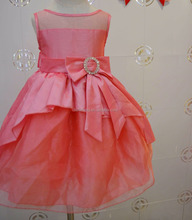 Stock Wholesale Children Frocks High Quality Baby Girls Dress For Wedding 2016 Kid Clothes