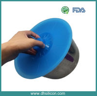 "Hot selling/FDA,LFGB/Food rade material/5""-12"" silicon pot lid"