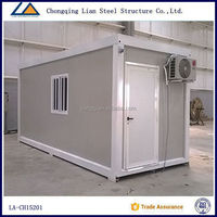 Prefabricated portable living container house prices