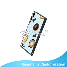 Wholesale Black Rubber TPU 2D 5.5 Inch Sublimation Cell Phone Plastic Cover For Ascend P6