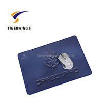 Tigerwings transparent photo insert natural rubber mouse pad