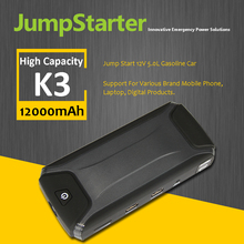 With nine years experiences of making 12000mAh portable jump starter with car battery charger
