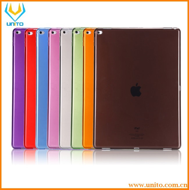 Ultra Thin Protector Cover for Apple iPad Pro Transparent Crystal TPU Back Case