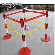fiber glass electric fence post