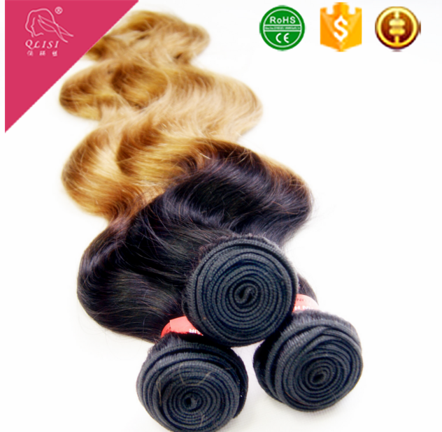 Body Wave Ombre Human Hair Extension Wefts