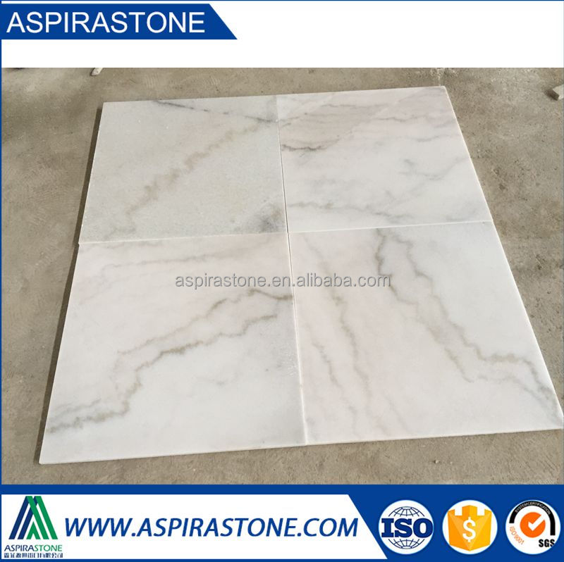 quarry price polished guangxi white marble