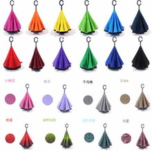 China market different kinds of promotional Upside Down travel kazbrella Umbrella
