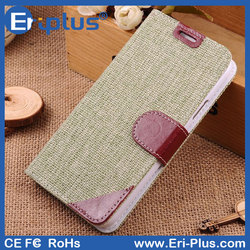 Knitted Pattern Wallet Leather Case For Samsung Galaxy s5 Active