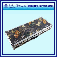 Professional & Fashional Camouflage Aluminum Rifle Gun Case For Hunting