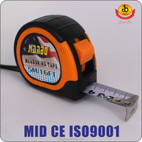 Top quality & High strength 100% NEW ABS Plastic Shell tape measure/ABS Case measuring tape