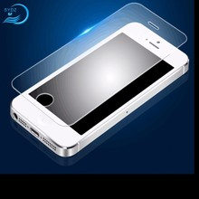 Top Quality 2.5D Nano 9H Clear For Iphone 5S Glass Cover