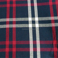 yarn dyed flannel check fabric wholesale 22000 mtrs