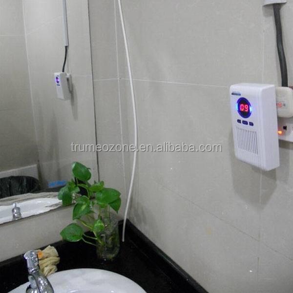 Portable plug-in ozone air cleaner for household, hotel