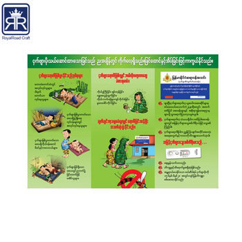 full color printing art paper paper pamphlet printing service buy