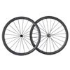ICAN 2017 popular chinese CN spoke road bike 700c clincher carbon fiber wheels