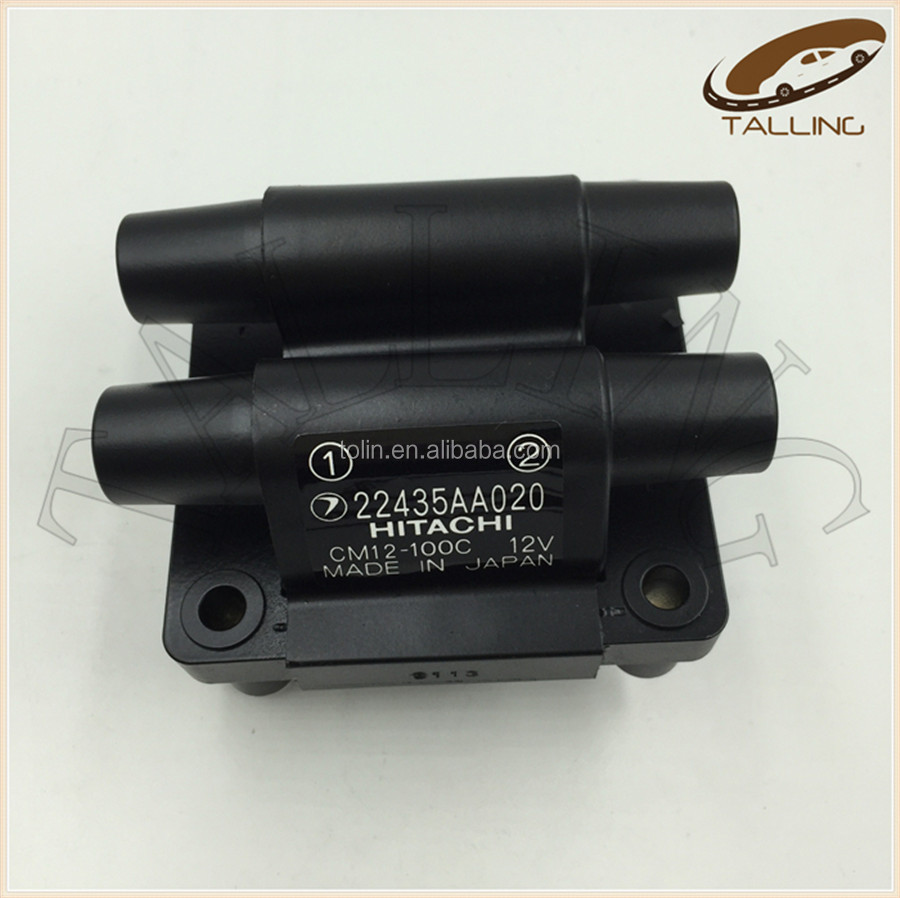 High Quality Car Ignition Coil For Subar u Mper a Imper a Legac y OEM 22435-AA020 CM12-100D 22435AA020 Ignition Coil