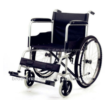 Steel foldable Economic cheapest wheelchair used wheelchair price under usd 35