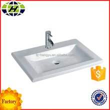 sanitary wall hung best selling products counter ceramic wash basin